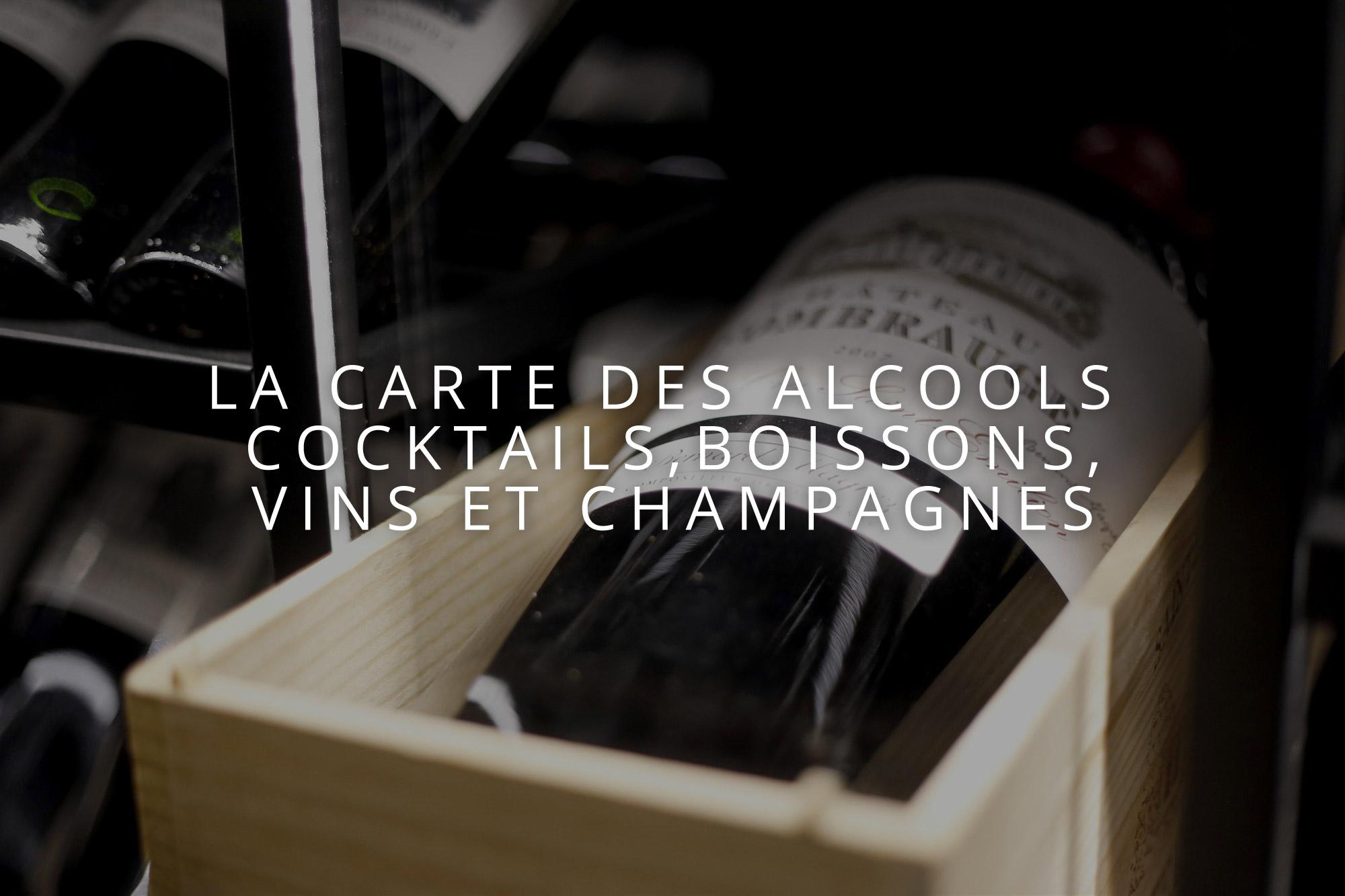 Les cocktails et boissons du Siman