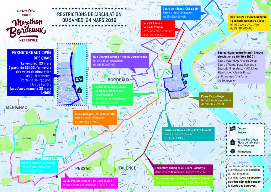 Marathon de Bordeaux Samedi 24 Mars Information