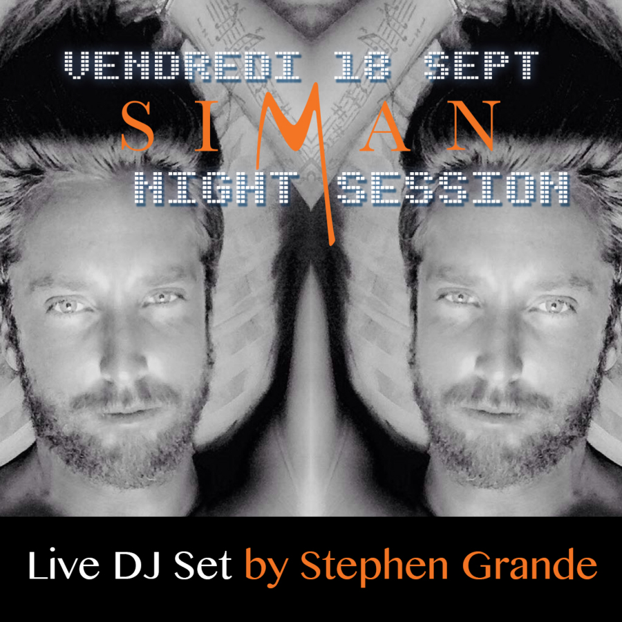 STEPHEN // VENDREDI 18 SEPTEMBRE