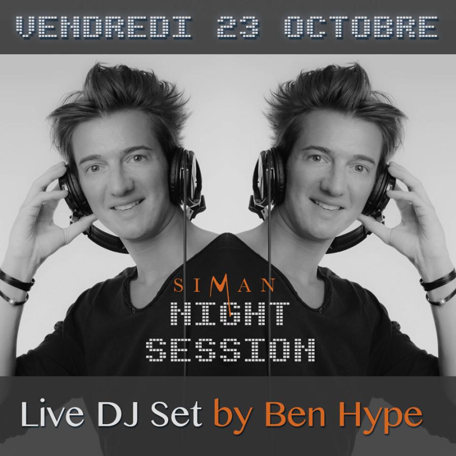 VENDREDI 23 OCTOBRE // BEN HYPE