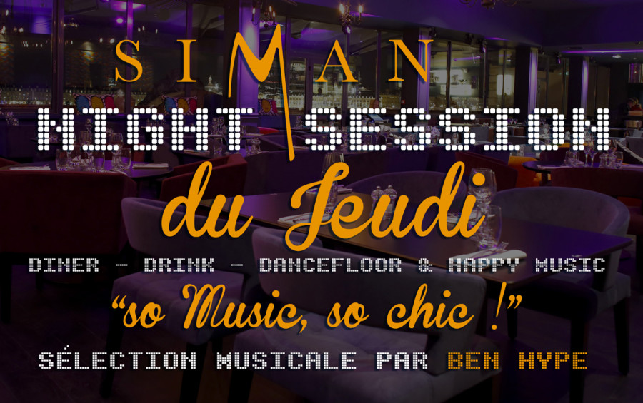 JEUDI NIGHT SESSION // JEUDI 22 OCTOBRE