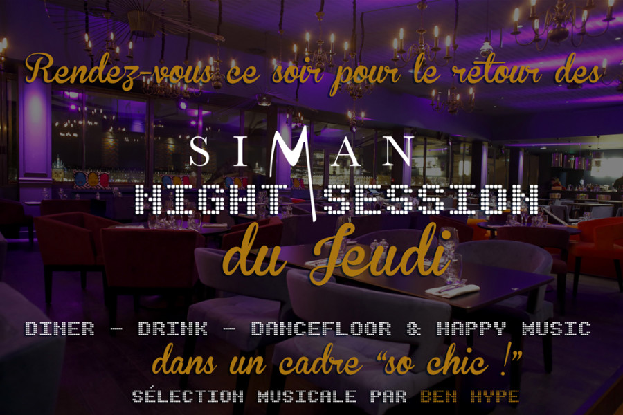 JEUDI NIGHT SESSION // JEUDI 15 OCTOBRE