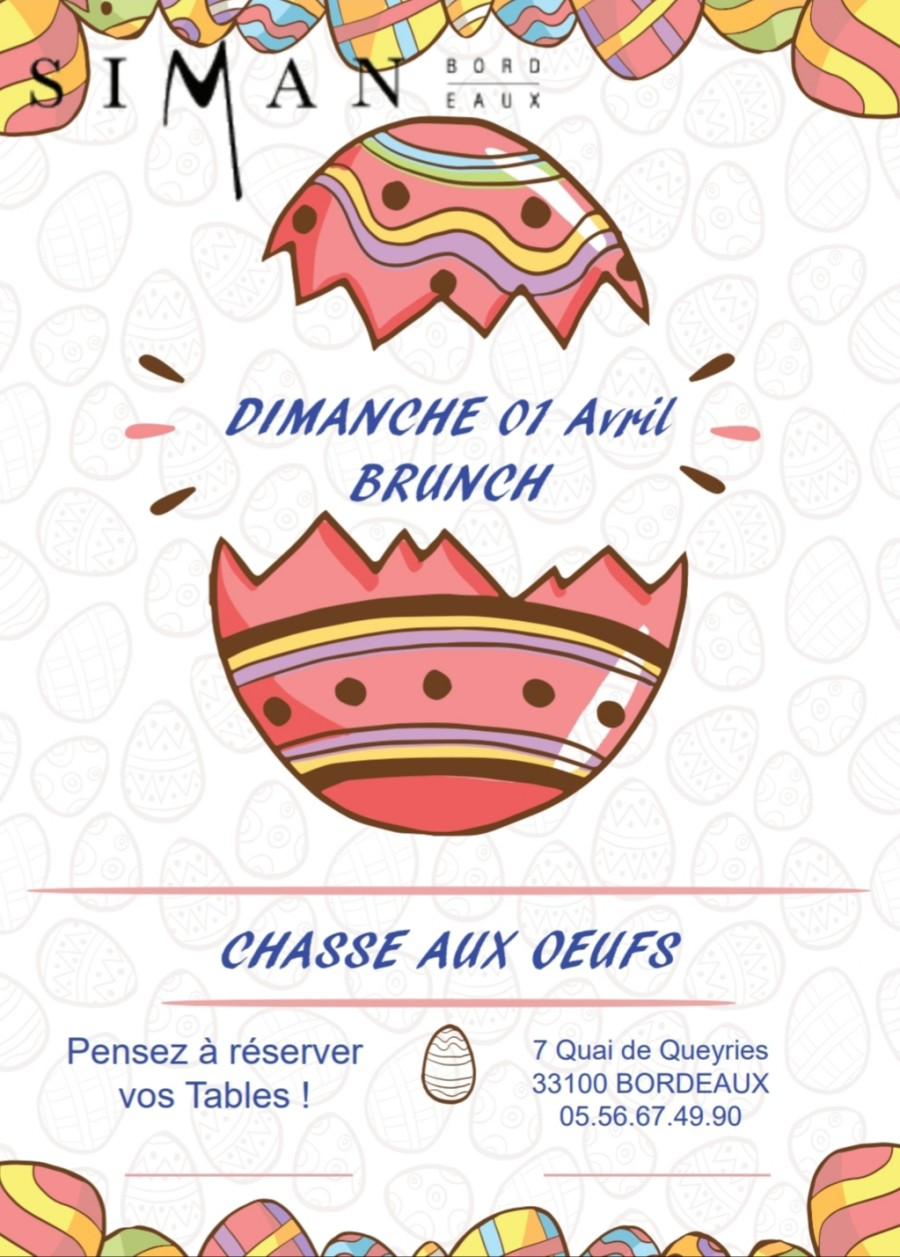 Brunch Dimanche 01 Avril
